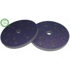 Мягкая проставка диаметр 150 мм, 15 отверстий Н-10 мм, цвет черный