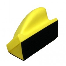 Шлифблок угловой полужесткий 120x70 мм