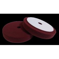 Полировальный круг FITTER, бордовый с отверстием на липучке универсальный D-150 мм