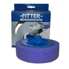 Полировальный круг FITTER на резьбе М-14 фиолетовый