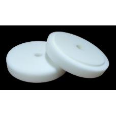 Полировальный круг FITTER, белый твердый с отверстием на липучке D-150 мм