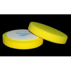 Полировальный круг FITTER, желтый универсальный на липучке D-150 мм